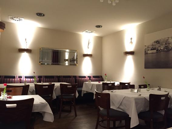Restaurant Olive Griechische Kuche In Der Bonner Innenstadt
